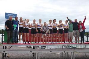 2012 Womens J18 8+ Champions