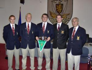 2006 - Mayoral Civic Reception - Mens Senior 4- (Composite Galway/NUIGBC)