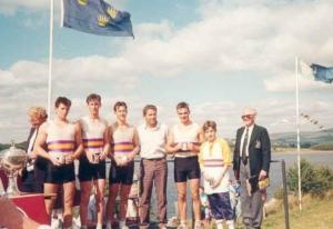 1989 - Mens J18 4+ Winners Presentation
