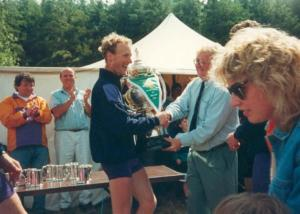 1993 - Mens Senior 8+ Championship Of Ireland - Presentation Malcolm Hosty (Stroke)